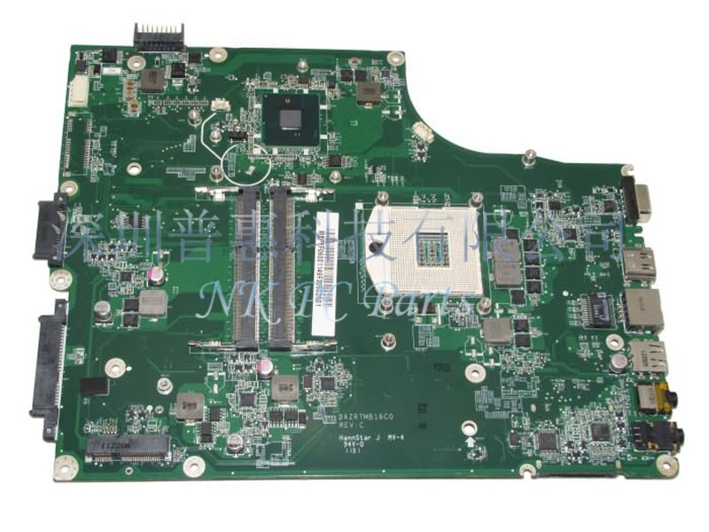 MBPYF06001 MB.PYF06.001 Main board For Acer 5820 5820T motherboard / System board HM55 DDR3 DAZR7MB16C0