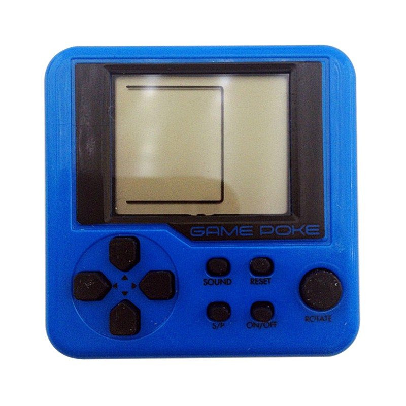 Portable Game Consoles Retro Mini Puzzle Children Russian Box Game Console Random Color LCD Players Educational Electronic Toys