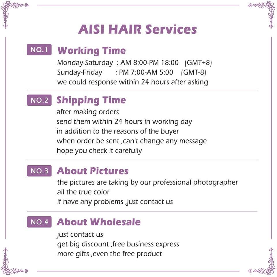 AISI HAIR Syntetisk Ombre Grå Hår Bob Style Korta Paryk till - Syntetiskt hår - Foto 6