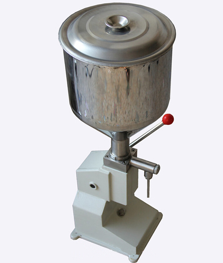 A03 Manual Filling Machine for cream shampoo cosmetic lube Fluid food etc free shipping a03 new manual filling machine 5 50ml for cream