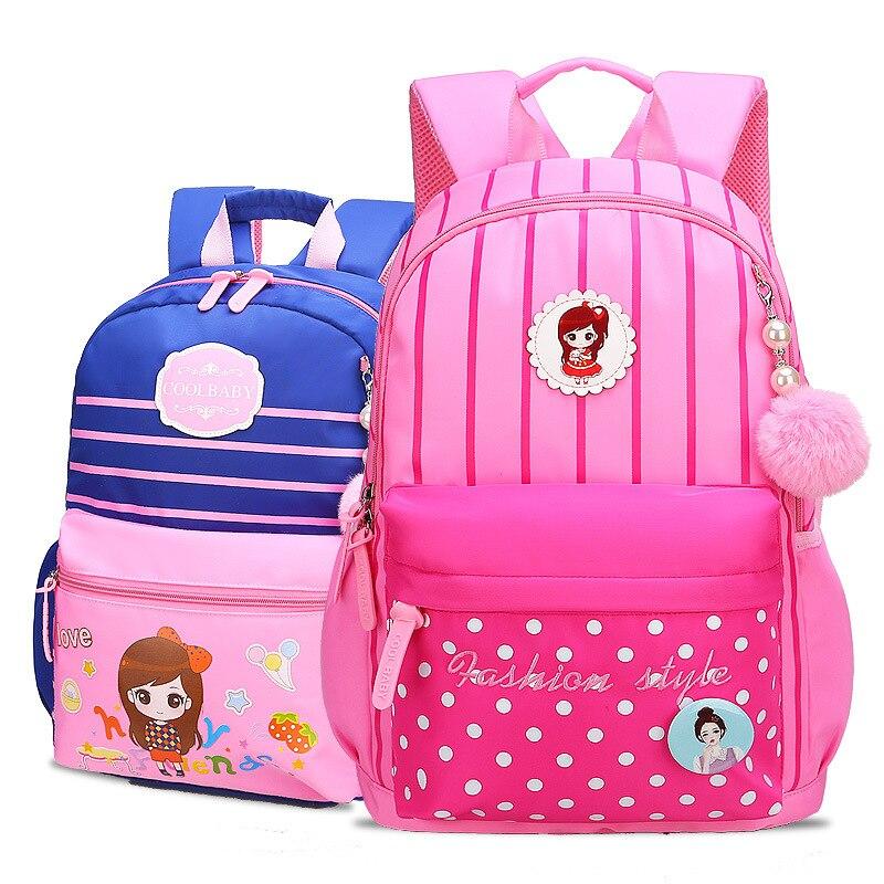 children school bags girls kids orthopedic backpack schoolbags princess backpack primary school backpack kids satchel sac enfant