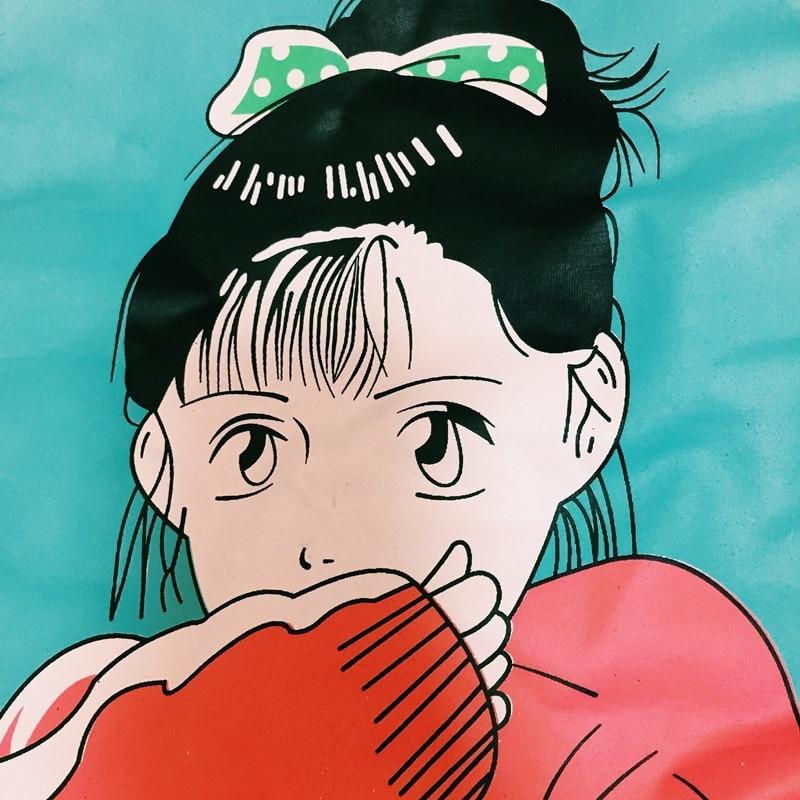 Κορεατική κόκκινη κοπέλα τυπωμένη - Γυναικείος ρουχισμός - Φωτογραφία 5