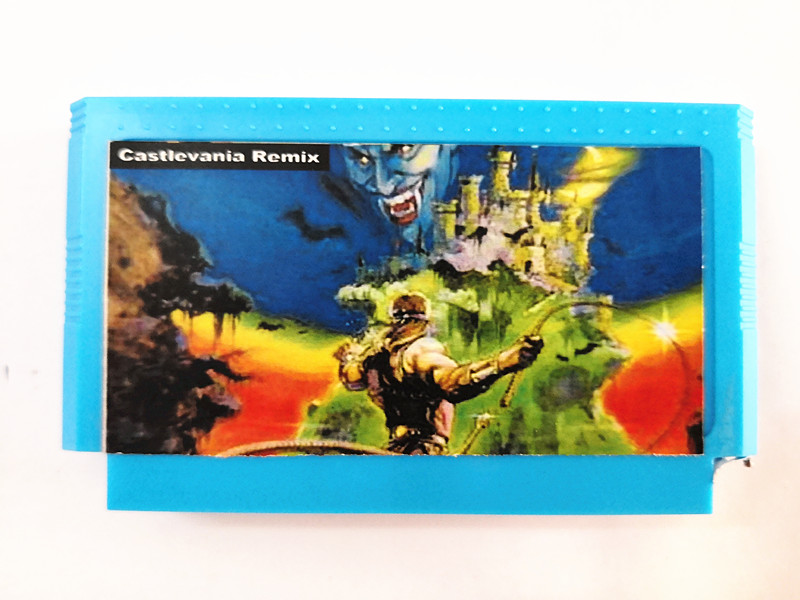 Top quality 60 Pin 8 bit Game Cartridge 42 in 1 with CASTLEVANIA REMIX недорго, оригинальная цена