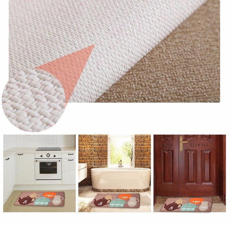 cozinha tapete tapete de banho casa entrada