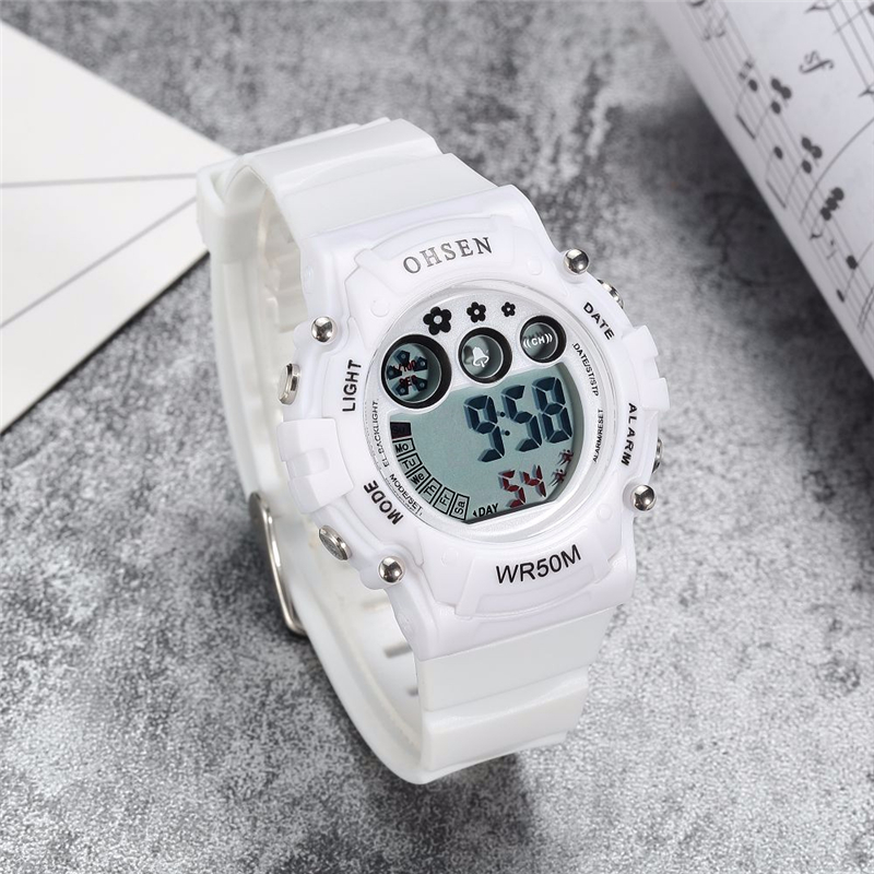 New Ohsen Unisex Watch Fashion Casual Watches Relogio Masculino Students Sports For Men Women Water Resistant Alarm Wristwatches (21)