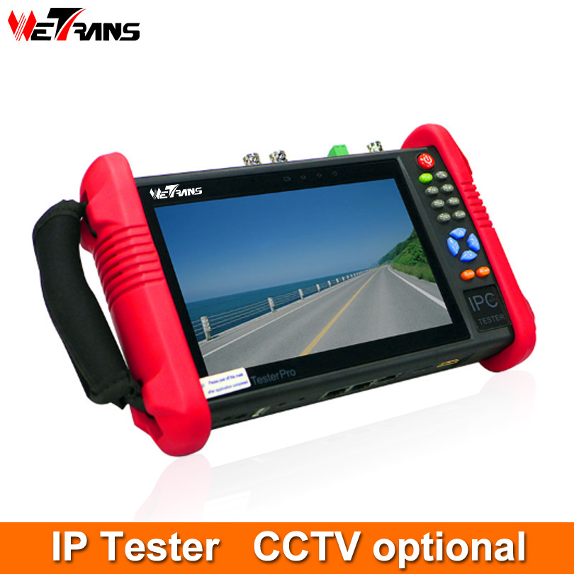 IP CCTV Tester 7 Inch LCD Touch Screen 1080P Onvif Wifi POE PTZ Control DC 12V Camera IP Tester