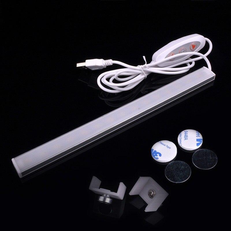 5V USB LED Strip Bar USB LED Desk Table Lamp Night Light For Bedside Book Reading Study Office Work Children Night Light