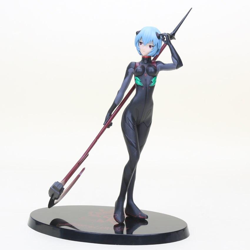 21 см Animazione Евангелион EVA Ayanami Rei Nero Plugsui ПВХ фигурку Коллекция модель игрушки Con La Scatola