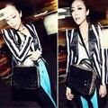 2016 Nova Moda Senhora Do Vintage Leopardo Lantejoulas Saco de Designer Bolsas Bolsas De Couro Das Mulheres Transversais Sacos Do Mensageiro Do Ombro bolsas