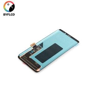Image 3 - Nuovo Lcd Originale Per Samsung S9 Plus Screen Nel Telefono Cellulare G965F Con Telaio O Senza Cornice Per Samsang galaxy S9 + Display