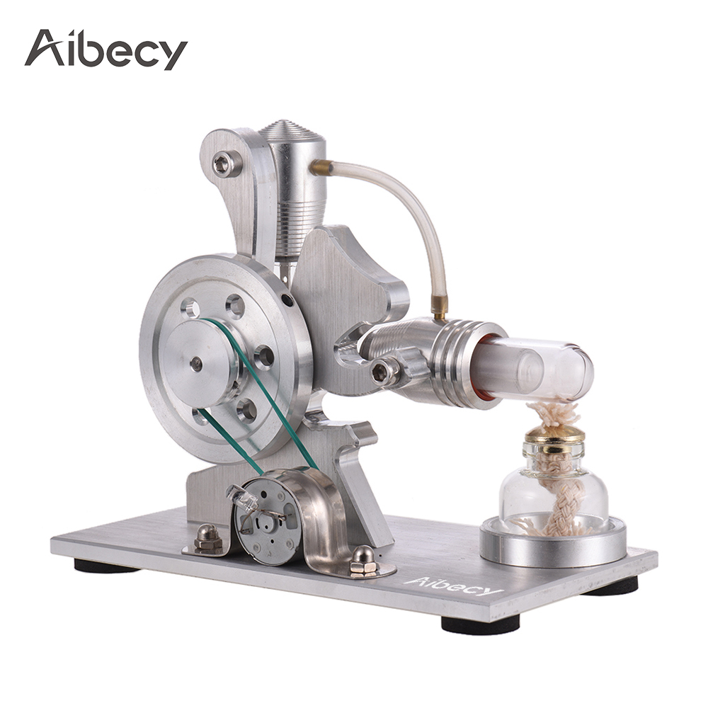 все цены на New Arrival Stainless steel Hot Air Stirling Engine Motor Model Educational Toy Science Experiment Kit for Kids Learn Physics