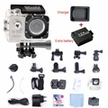 Video Camera WiFi 1080P FHD Camara  Action Cam Deportiva Sport DV + Extra Battery + Charger