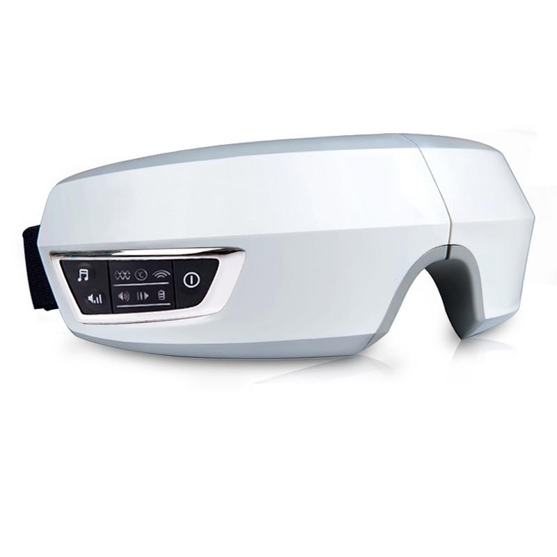 Wireless USB Intelligent Air pressure Eye massager Far Infrared heating functions Eye Relax massager glasses Myopia Prevention