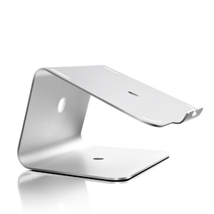 Luxury Aluminium Dock Nottable Laptop Stand Cooling PAD for Notebook Macbook