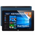 Original CUBE i15 iwork10 Flagship 10.1 inch Intel Cherry Trail Z8300 Quad-core Dual OS 4GB 64GB Windows 10 Android 5.1 Tablet