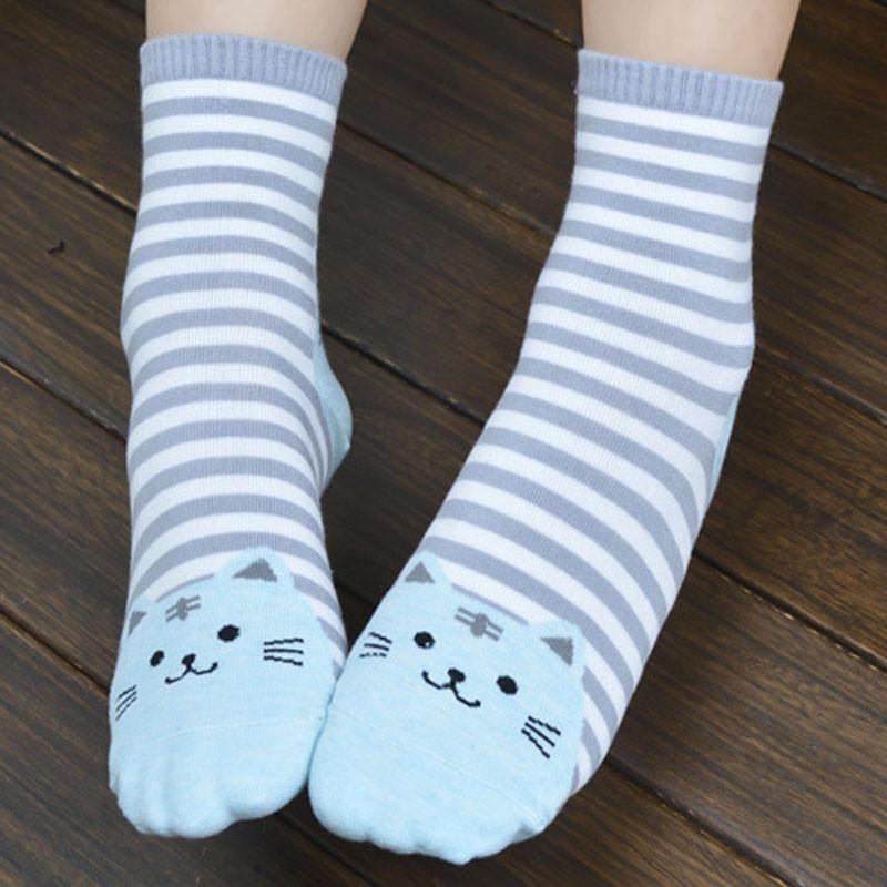 Cute Socks With Cartoon Cat For Cat Lovers Cute Socks With Cartoon Cat For Cat Lovers HTB1yIowQVXXXXXIXpXXq6xXFXXXm