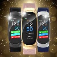 BANGWEI New Smart Watch Men Women Heart Rate Monitor Blood Pressure Fitness Tracker Smartwatch Sport Watch For Ios Android + BOX