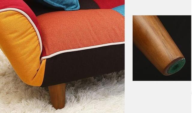 Patchwork Adjustable Sofa  6