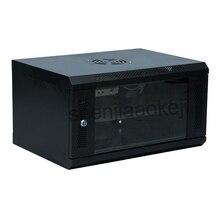 6U сетевой шкаф, настенный шкаф для мониторинга, компьютерный шкаф 220 В/110 В 1 шт