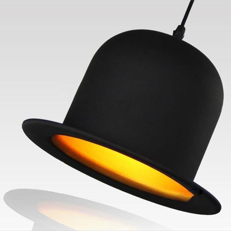 ФОТО Jeeves-Wooster-Pendant Light Top Hat  Dome cap aluminum lamp