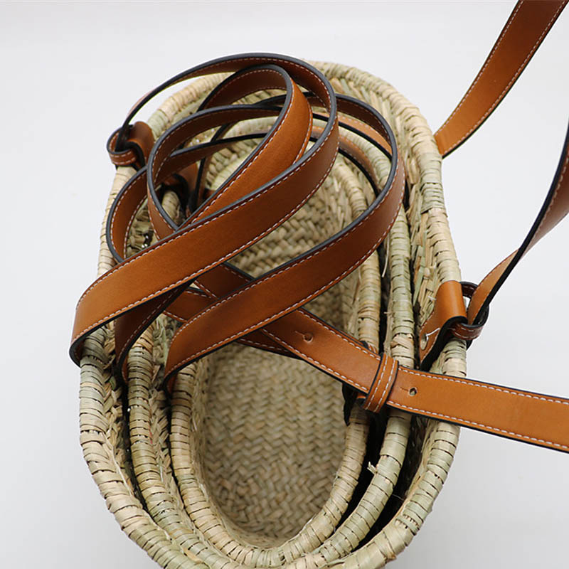 Вместительная Плетеная соломенная сумка-тоут 2020, очень популярная летняя пляжная сумка-корзина, женские сумки, пакет для путешествий и поку...