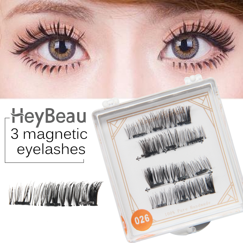 3D mink Eyelashes Magnetic False Magnetic eye lashes Magnetic Eyelashes Extensions magnetic Lashes Cross Reusable lash lift set