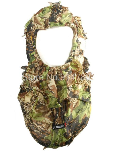 JUNGLE MAN TACTICAL PAINTBALL OUTDOOR 3D REAL TREE BALACLAVA MASK-34242