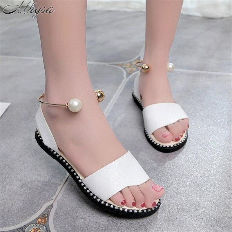 Mhysa 2019 New Summer font b Women b font Sandals Flip Flops Fashion Rome Breathable Non