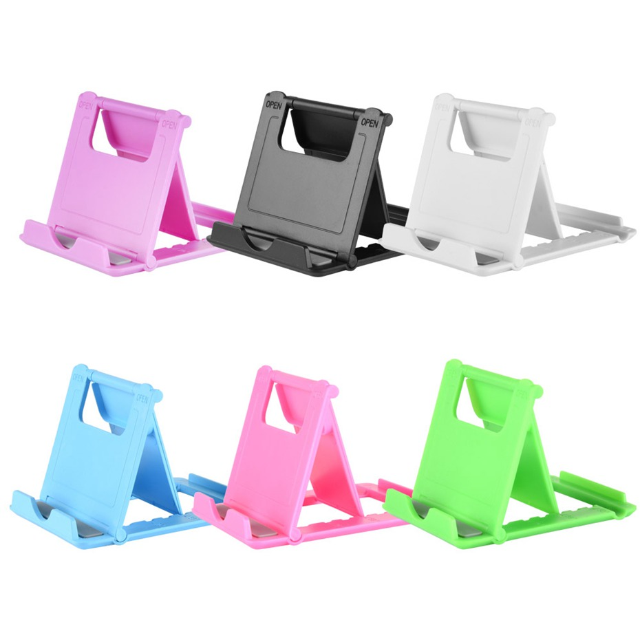 Universal Plastic tablet holder Stand For iPad mini air 2 Mobile Phone For Samsung Xiaomi huawei for iPhone
