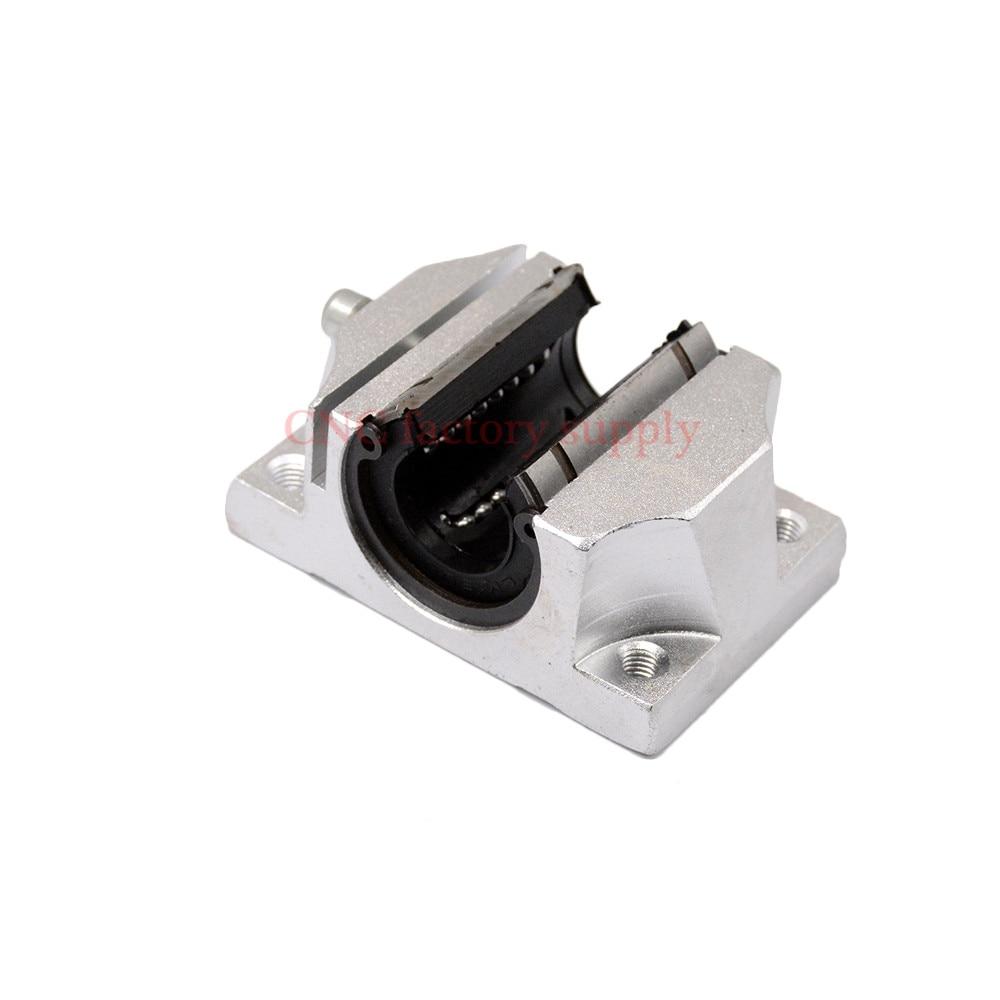Бесплатная доставка TBR25UU 25 мм Линейный шарикоподшипник опорный блок ЧПУ маршрутизатор