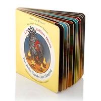 Sample fee Baby first year memory book printing children education book printing Cardboard books
