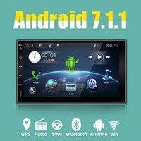 Автомобиль Электронные 7 2 Din android автомобильный коснитесь Планшетные ПК 2 din универсальный для Nissan gps навигации BT Радио стерео аудио без DVD