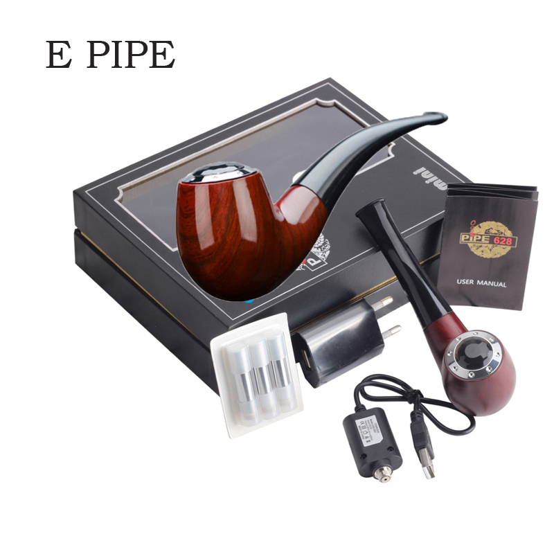Leiqidudu HRPIPE Mini E pipe 618 Kit Best E Pipe Vaporizer New 618 Mini E pipe Eletronic Cigarette Big Vapor E Cig 628 epipe nigel mini e pipe 628 smoking kit best e pipe vaporizer new 618 vape mod pipe eletronic cigarette big vapor wooden e cig cheap