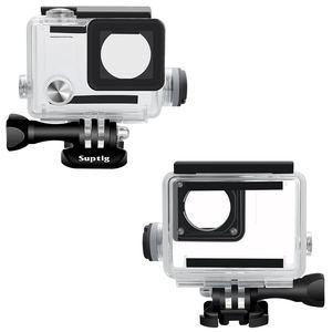 Image 3 - NEUE Sport Kamera Zubehör Charge Wasserdicht Fall Ladegerät shell Gehäuse Mit Usb kabel für Gopro Hero 4 3 + Für motorrad