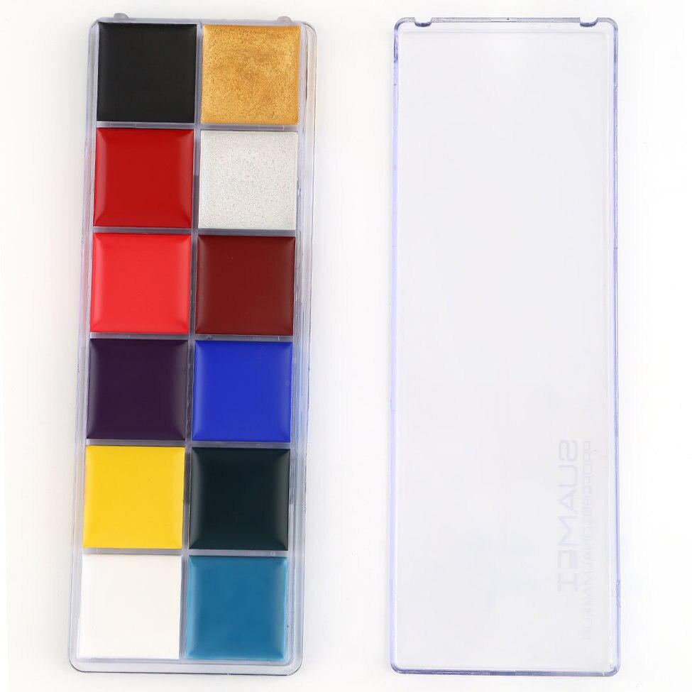 5 stücke Professionelle Tattoo Tinte Pigmento Make-Up Pigmente Für Augenbraue Eyeliner Lip Tattoo Supply Pigment für make-up