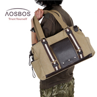 Aosbos Training Gym Bag Men Women Canvas Sports Bag For Fitness Outdoor Traveling Handbags Durable Multifunctional