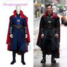 avengers endgame 4 Doctor Strange Cosplay Costume Stephen Steve Vincent Strange Costume Marvel Movie Superhero   Costume doctor strange cloak cosplay costume dr strange steve red cloaks magic robe halloween party long cape