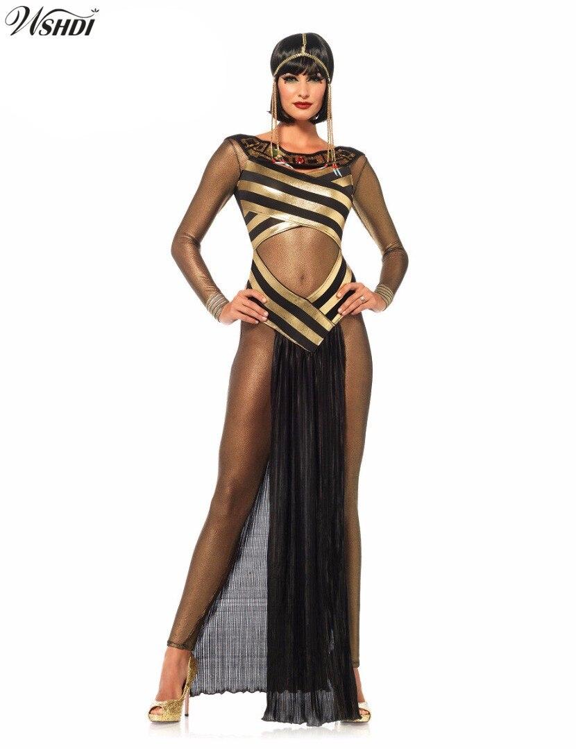 Egiziano Cleopatra GIOIELLI CATENA E ORECCHINI CLEOPATRA Egitto DEA COSTUME