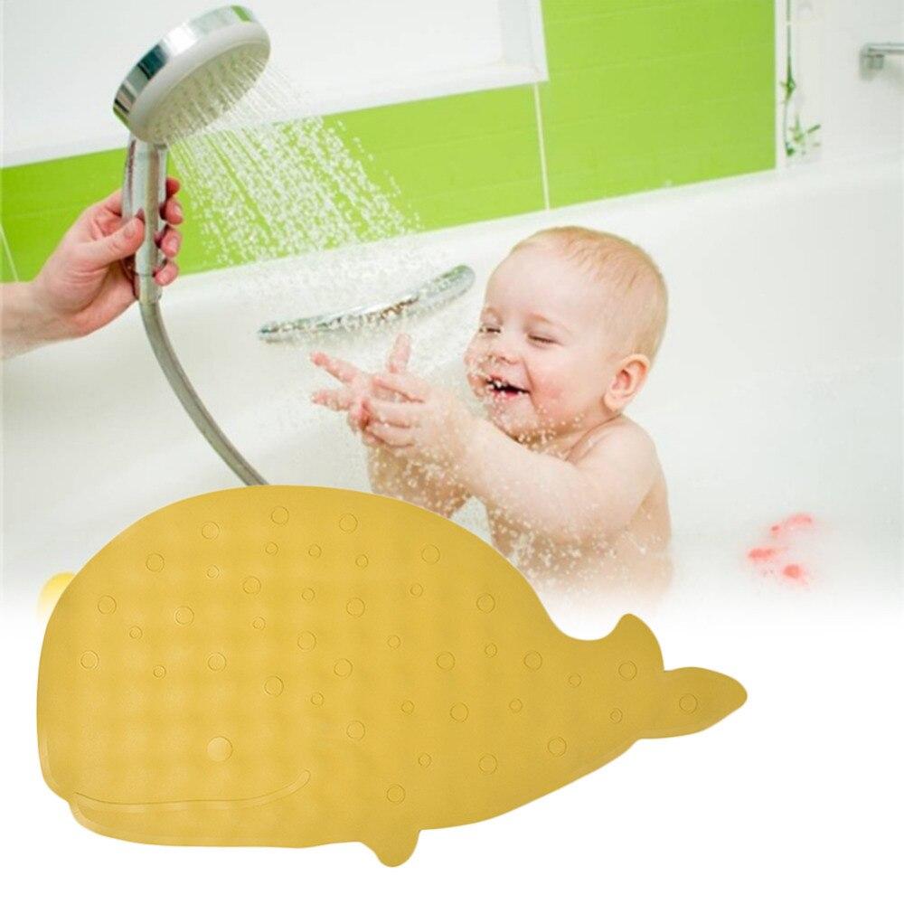 Baby Non slip Mat Natural Rubber Cartoon Children Extra Long Bath ...