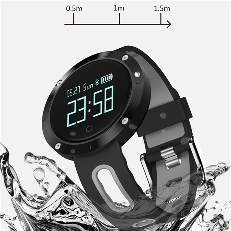 Outdoor Sports Smart Watch DM58 Bluetooth Fitness Blood Pressure Sleep Monitor Waterproof Smart Watch Suitable for Android IOS