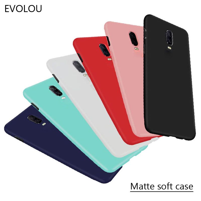 Oneplus 6T Case Soft Matte Candy TPU Cover For One Plus 6T