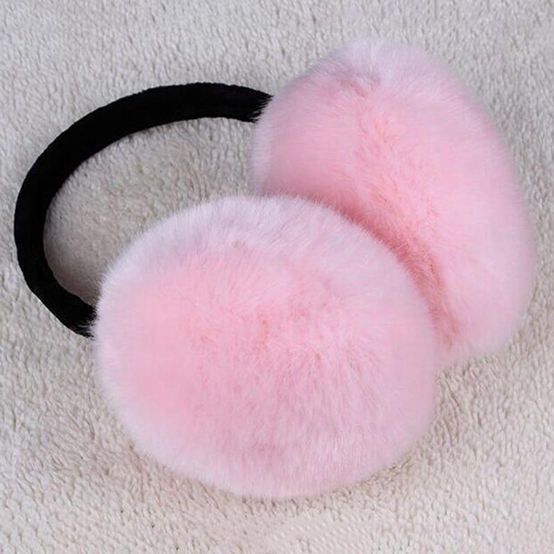 2019 Winter Earmuff  Women Fur Earmuffs Winter Ear Warmers Large Plush Girls And Boys Ear Warmers Earmuffs