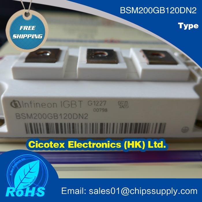 BSM200GB120DN2 Module BSM 200GB 120DN2 IGBT 2 MED POWER 62MM-1 BSM200GB120DN2HOSA1BSM200GB120DN2 Module BSM 200GB 120DN2 IGBT 2 MED POWER 62MM-1 BSM200GB120DN2HOSA1
