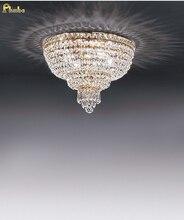 Phobe الإضاءة الحديثة الكريستال ضوء السقف Flush جبل ضوء غرفة الطعام الإضاءة شحن مجاني!