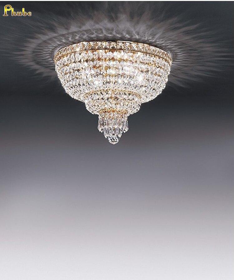 Phube Beleuchtung Moderne Kristall Decke Licht Unterputz Licht Esszimmer Beleuchtung + Kostenloser versand!