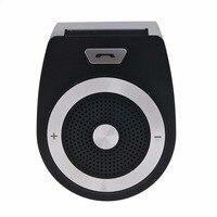 Binyeae Универсальный Bluetooth V4.0 + EDR громкой связи Car Kit Беспроводной многоточечного соединения громкой связи с CVC DSP микрофон