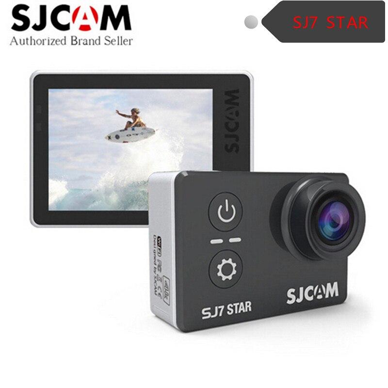 Original sjcam sj7 estrella wifi 4 k a12s75 chipset ambarella 30fps $ number \