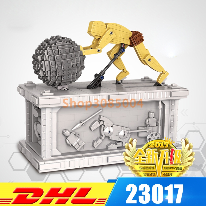 IN STOCK DHL Lepin 23017 1462Pcs Movie Series MOC Le Mythe de Sisyphe Building Blocks Bricks to Holiday Toys Gift new lepin 23017 1462pcs movie series moc le mythe de sisyphe building blocks bricks to holiday toys gift