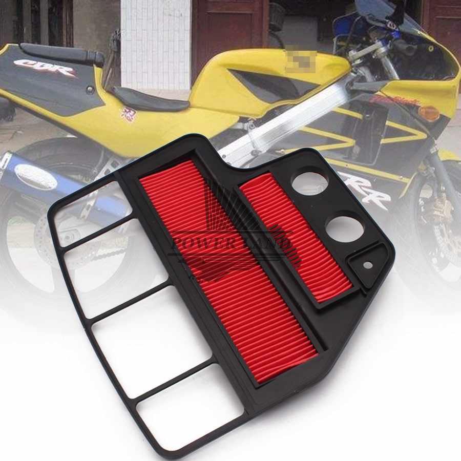 1 Pcs Metal Motor Udara Asupan Filter Pembersih Udara OEM untuk Honda CBR400 CBR 400 NC23 1988 1989 88 89