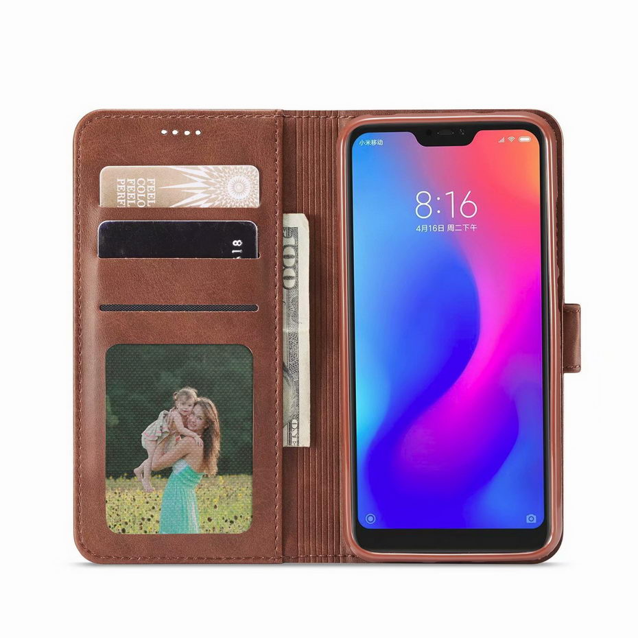 Flip Leather Case For Xiaomi 6X 5X A1 A2 Redmi K20 6 7 4A 4X 5A 5 Plus Pro Redmi Note 7 4 4X 5A 5 6 Pro Coque wallet Phone case